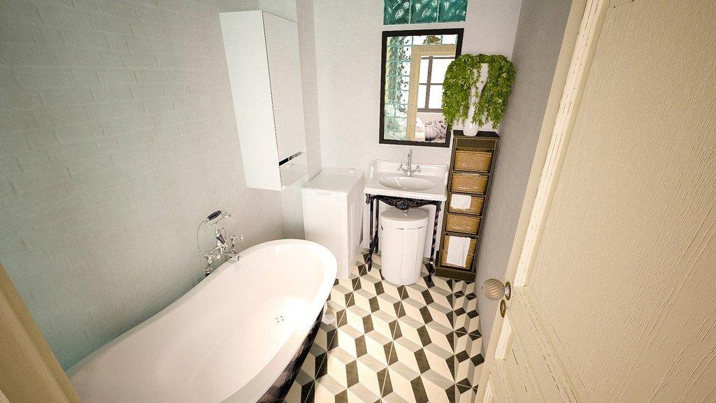 Maçonnerie : rénovation d'une salle de bain